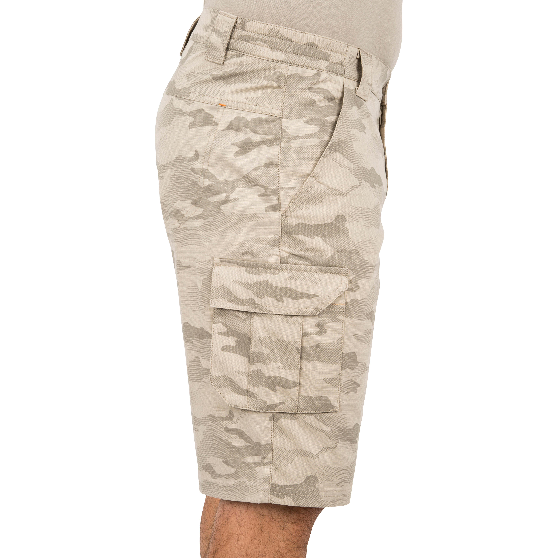 Men's Bermuda Shorts 500 Camo Halftone Sand