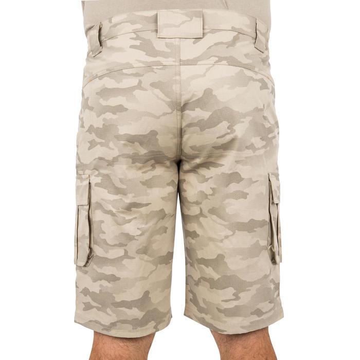 500 Camouflage hunting Bermuda half tone green - 160363