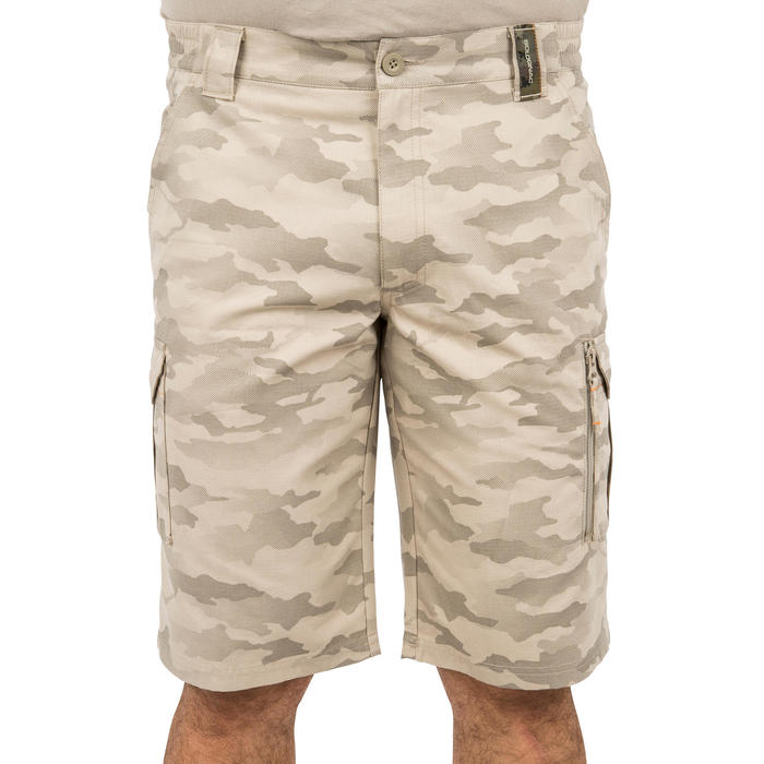 500 Camouflage hunting Bermuda half tone green - 160364