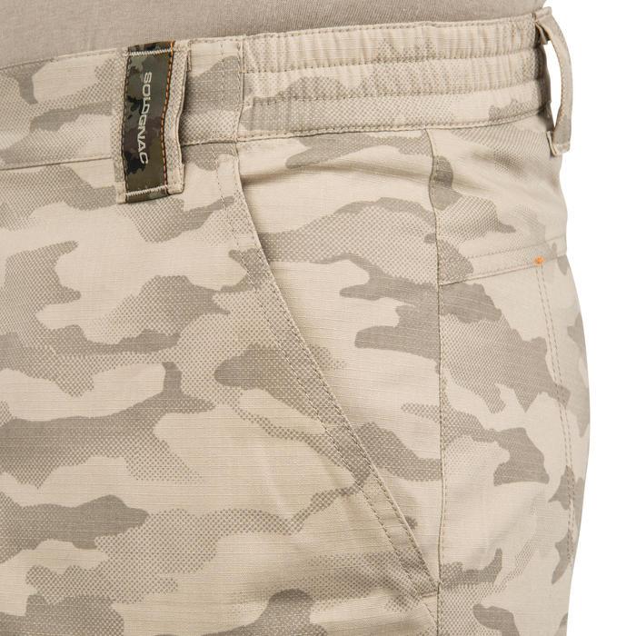 500 Camouflage hunting Bermuda half tone green - 160368