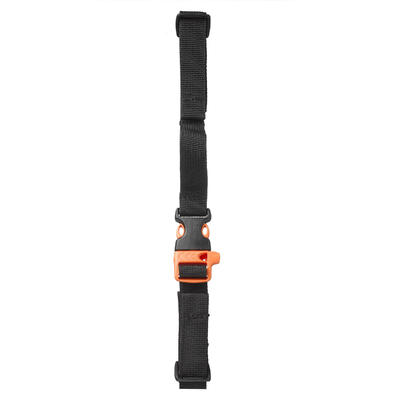 Chest strap for a trekking and hiking backpack