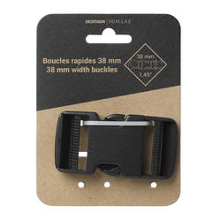 38mm quick-release buckle for trekking backpack belts