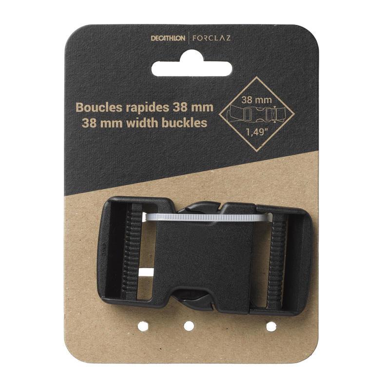 Boucle à dégagement rapide de 38mm pour ceinture de sac à dos