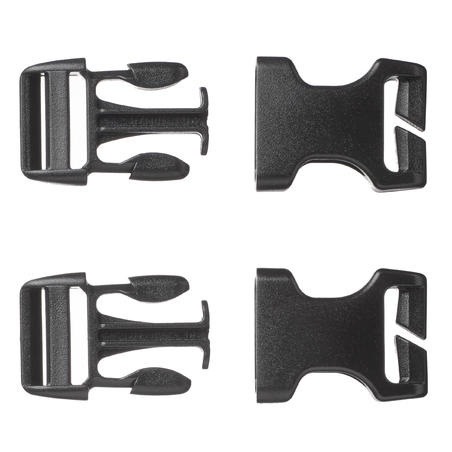 Set of 2 quick buckles for backpack - 20mm