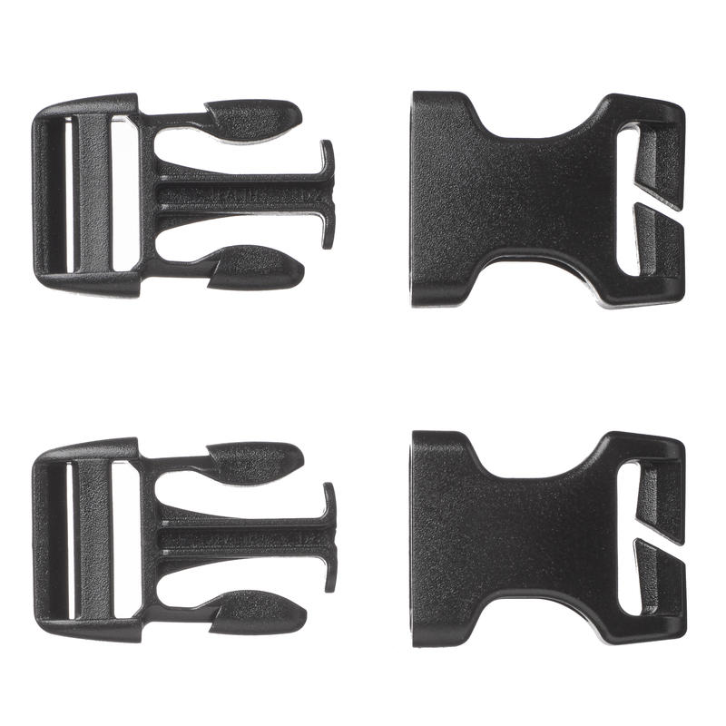 Lot of 2 Quick Buckles for Backpacks 20 mm