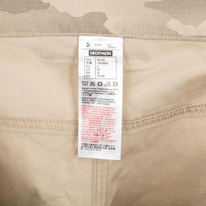 500 迷彩半色調百慕達短褲 , 沙
