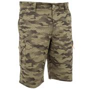 Men's Bermuda Shorts 500 Camo Halftone Green