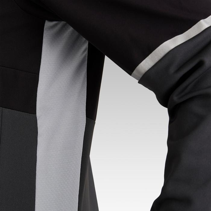 Trainingsjack dames T500 zwart