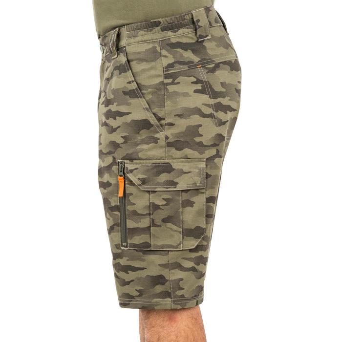 500 Camouflage hunting Bermuda half tone green - 160374