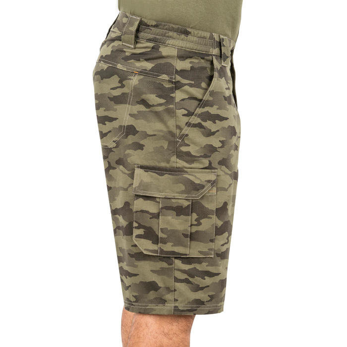 500 Camouflage hunting Bermuda half tone green - 160375