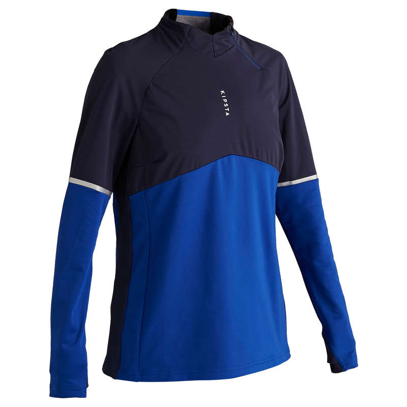 WOMEN FOOT TEXTILE Football - T500 Women Blue KIPSTA - Football Clothing