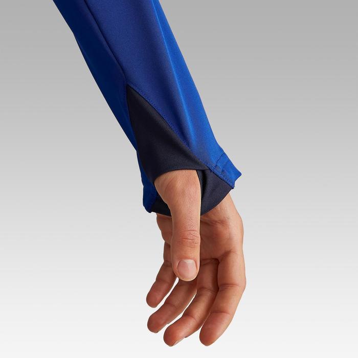 Sweatshirt Trainingsshirt T500 Fußball Damen blau