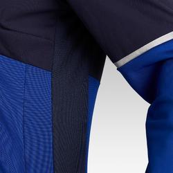 Trainingsjack voetbal T500 voor dames blauw
