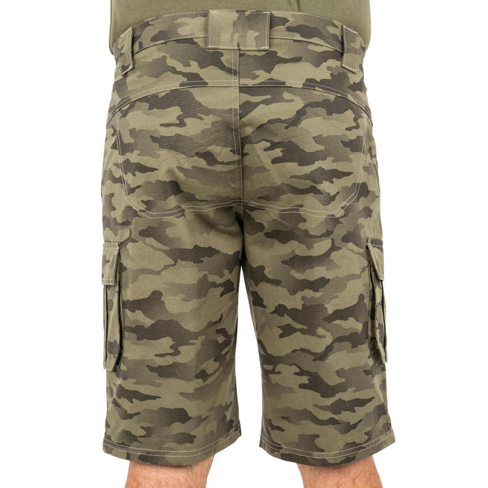500 Camouflage hunting Bermuda half tone green - 160377