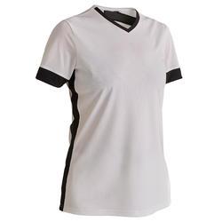 F500 Women's Soccer Jersey - White/Black