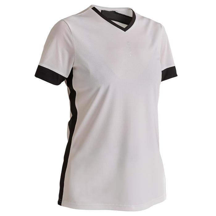 F500 Women's Football Jersey - White/Black