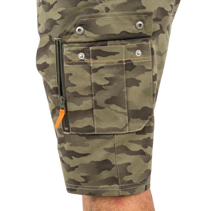 500 Camouflage hunting Bermuda half tone green - 160378