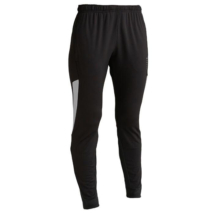 Trainingsbroek voor voetbal dames T500 zwart