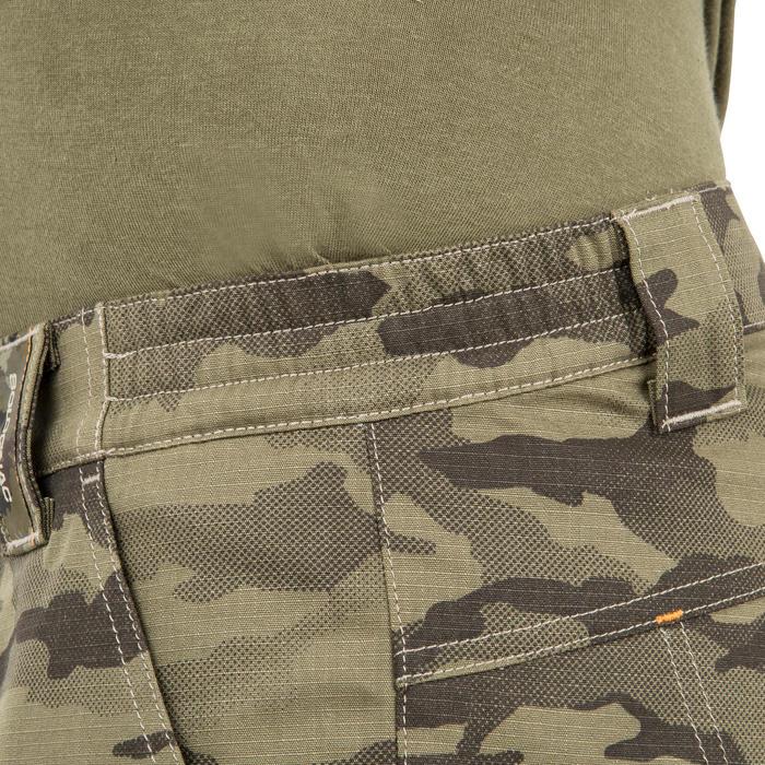 500 Camouflage hunting Bermuda half tone green - 160380