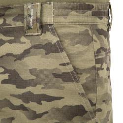 Bermuda Caza Solognac SG 500 Camuflaje Militar Half Tone Verde