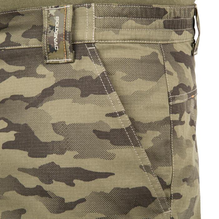 Jagersbermuda 500 camouflage half tone groen