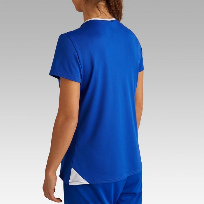 Camiseta de fútbol mujer F100 azul