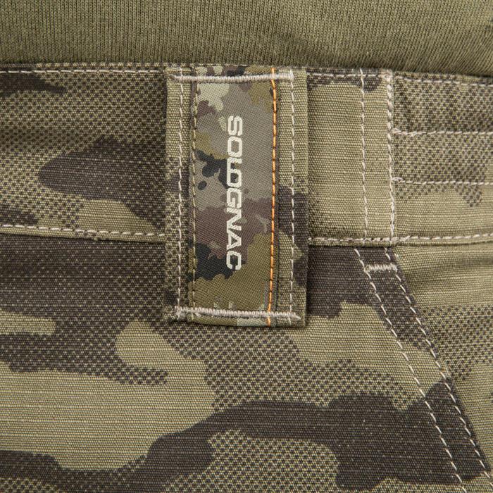 500 Camouflage hunting Bermuda half tone green - 160382