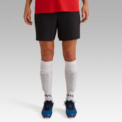 Pantalón corto de fútbol mujer F500 negro
