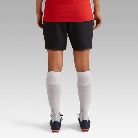 F500 Women's Soccer Shorts - Black