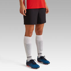 F500 Women's Soccer Shorts - Black