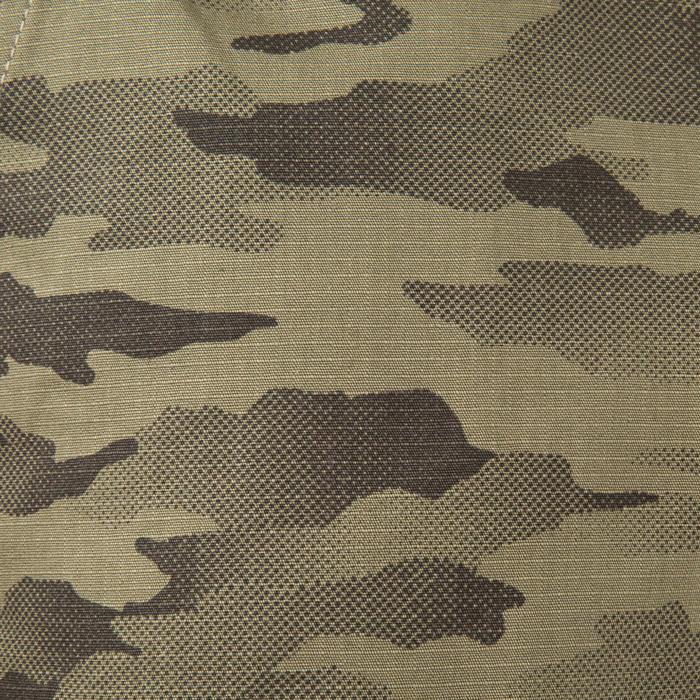 Bermudashorts 500 Jagd Halftone Camouflage grün