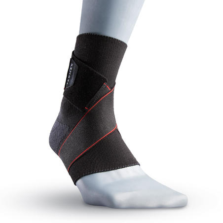 Strong 100 Right/Left Ankle Ligament Support Black - Men's/Women's