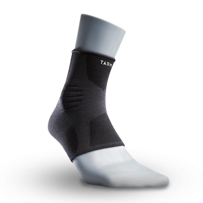 Knöchelbandage Soft 500 links/rechts propriozeptiv Erwachsene schwarz