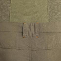 Pantalon léger chasse 100 vert