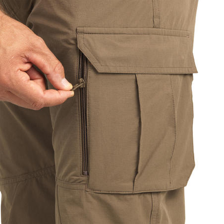 500 Lightweight, breathable hunting trousers, beige