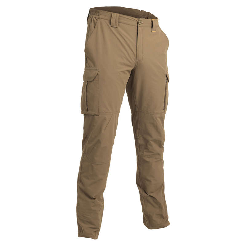 LIGHTWEIGHT CLOTHING Shooting and Hunting - LIGHT 500 TROUSERS - BEIGE SOLOGNAC - Hunting and Shooting Clothing
