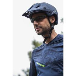 MTB-Fahrradhelm AM blau