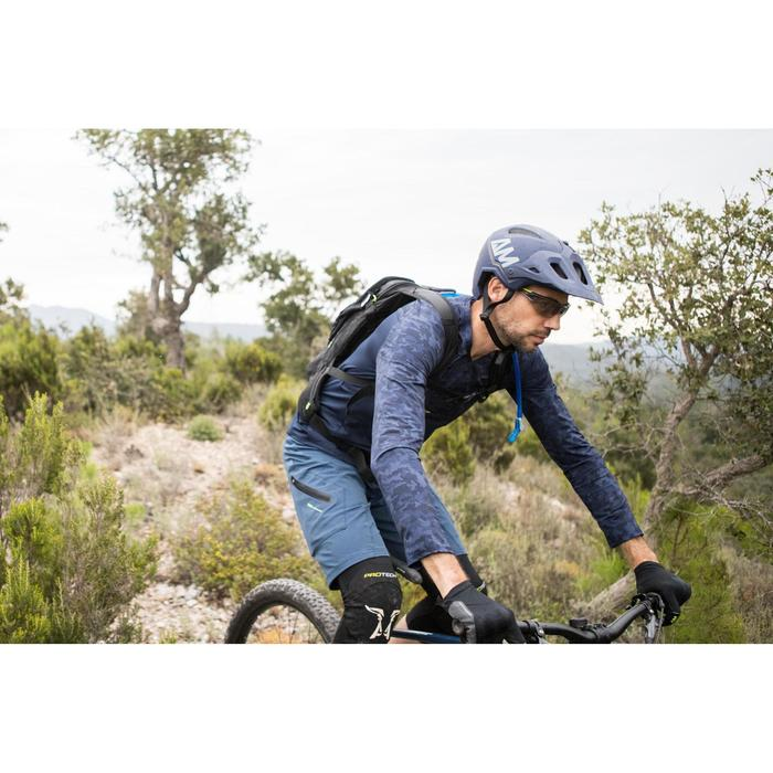 Casco BICICLETA MTB Allmountain Azul