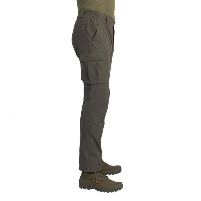 Lichte en ademende jagersbroek 500 groen