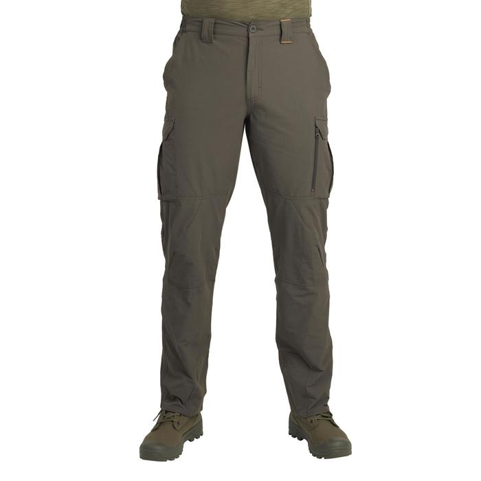 Pantalon léger et respirant chasse 500 vert