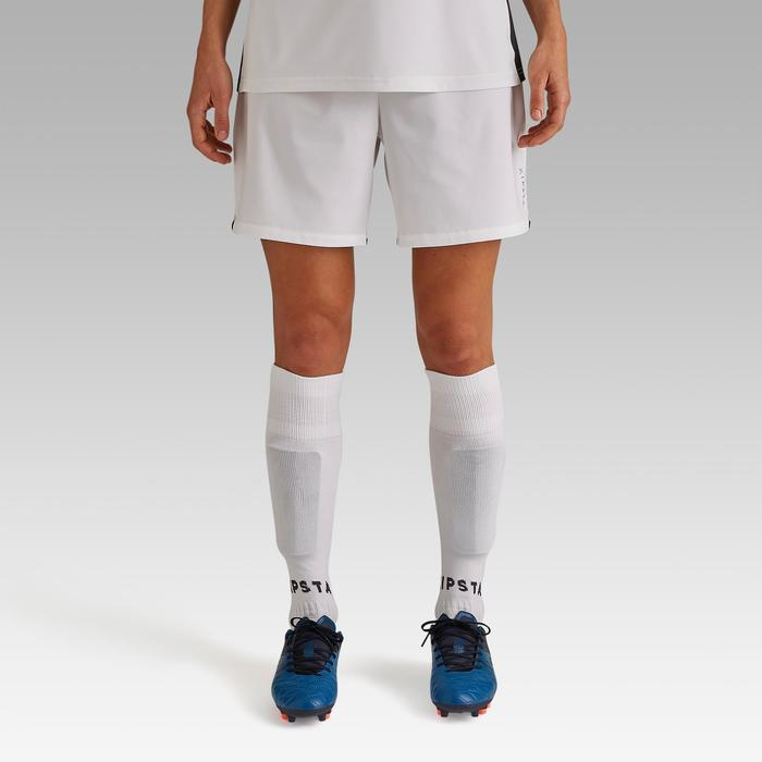Short de football femme F500 blanc