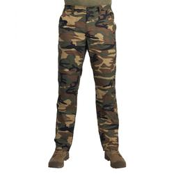 輕量狩獵長褲100-迷彩林地綠