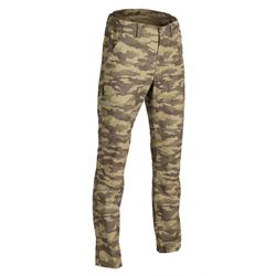 100 Lightweight Hunting Trousers - Camo Island Green