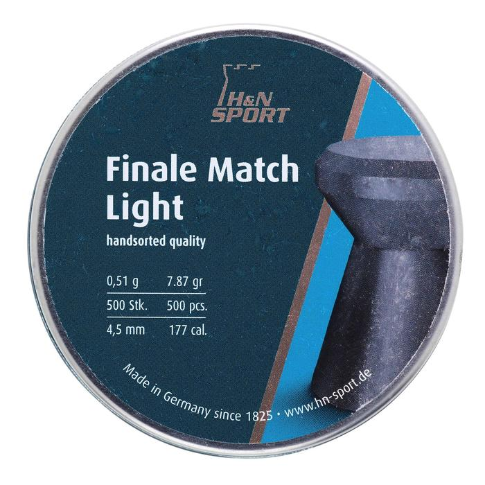 PLOMB FINALE MATCH LIGHT 4,5mm