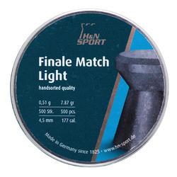 Perdigones Tiro Deportivo H&n Final Match Light Calibre 4,5 mm 500 Unidades