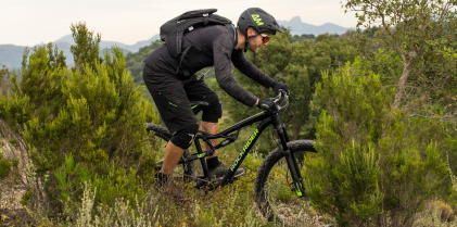VTT All Mountain en pleine nature