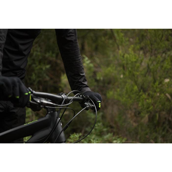 GUANTES CICLISMO MTB ROCKRIDER ALL MOUNTAIN NEGRO