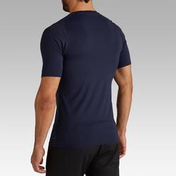 Ondershirt korte mouwen volwassenen Keepdry 100 grijs