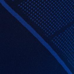 Ondershirt voor voetbal korte mouwen VW Keepdry 500 indigoblauw