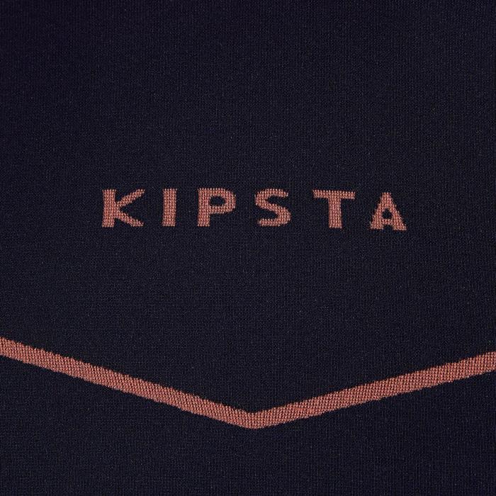 Sous maillot de football manches courtes adulte Keepdry 500 violet orange